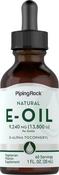 Natural Vitamin E-Oil 13,650 IU 1 oz Dropper Bottle