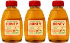 100% Wildflower Raw Honey 3 Bottles x 1 lb