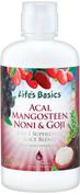 Acai, Mangostan, Noni & Goji Saftmischung 32 fl oz (946 mL) Flasche
