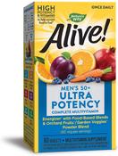 Alive! Once Daily Men's 50+ Multi-Vitamin Ultra Potency 60 Tabletten