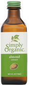 Simply Organic Almond Extract 4 fl oz (118 ml) Bottle