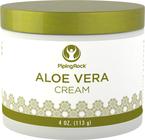 Creme hidratante de Aloe Vera 4 oz (113 g) Boião