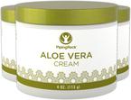 Aloe Vera Moisturizing Cream 3 Jars x 4 oz (113 g)