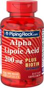 Alpha-Liponsäure plus Biotin-Optimierer 120 Kapseln mit schneller Freisetzung