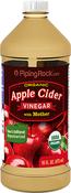 Vinagre de sidra de maçã com mãe do vinagre (Orgânico) 16 fl oz (473 mL) Frasco