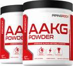 Arginin AAKG, 100% reines Pulver ‒ Stickoxidverstärker 7 oz (200 g) Flaschen
