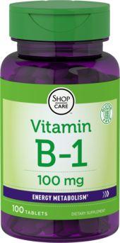 B-1 (tiamina) 100 Tabletas
