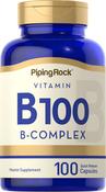 B-100-Vitamin-B-Komplex 100 Kapseln mit schneller Freisetzung