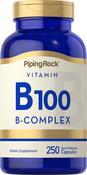 B-100-Vitamin-B-Komplex 250 Kapseln mit schneller Freisetzung