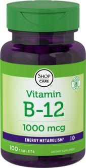 B-12  100 Tabletas