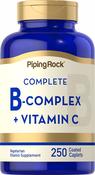 Complexe B plus vitamine C 250 Petits comprimés enrobés