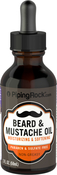 Beard & Mustache Oil Unscented with Dropper 2 oz