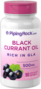 Black Currant Seed Oil 500 mg 90 Softgels
