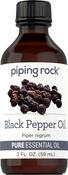 Black Pepper Essential Oil (GC/MS Tested), 2 fl oz (59 mL)