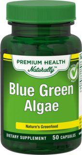 Algas Verde-Azuladas 50 Cápsulas