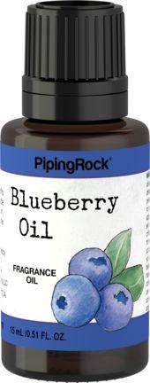 Huile parfuméeà la fragrancede bleuet 1/2 fl oz (15 mL) Compte-gouttes en verre
