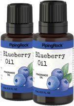 Blueberry Fragrance Oil 2 x 1/2 oz (15 ml) Dropper Bottle