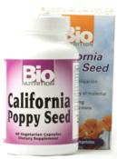 California Poppy Seed 500 mg, 60 Vegetarian Capsules