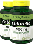 Chlorella gebrochene Zellwand 120 Vegetarische Filmtabletten
