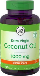 Óleo de coco biológico (extra virgem)  100 Cápsulas gelatinosas