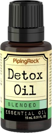 Essential Oil Detox 1/2 oz (15 ml) Dropper Bottle