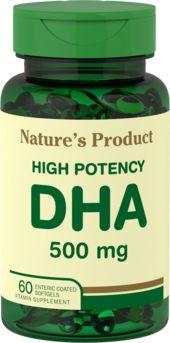 DHA entherisch bekleed 60 Softgels