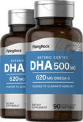 DHA 500 mg Enteric Coated 2 Bottles x 90 Softgels