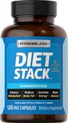 Diet Stack 120 Cápsulas vegetarianas