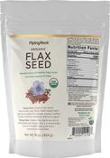 Organic Flax Seeds 16 oz (454 g) Bag
