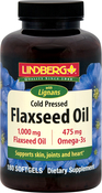 Flaxseed Oil with Lignans, 180 Softgels