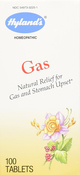 Gas Homeopathic for Gas & Upset Stomach, 100 Tablets
