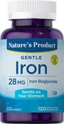 Gentle Iron (Bisglycinate) 120 Gélules à libération rapide