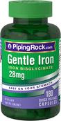 Gentle Iron 28 mg (Iron Bisglycinate) 180 Capsules