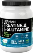 German Creatine & L-Glutamine, 1000 g