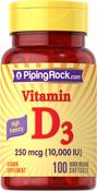 Hochdosiertes Vitamin D3  100 Softgele mit schneller Freisetzung