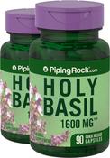 Holy Basil 1600 mg Tulsi 2 Bottles x 90 Capsules