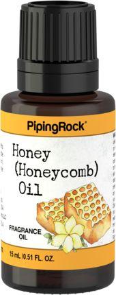 Huile de parfum de miel (nid d'abeilles) 1/2 fl oz (15 mL) Compte-gouttes en verre