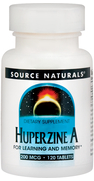 Huperzine A 200 mcg, 120 Tabs