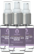Hyaluronsyre-serum 1 fl oz (30 mL) Pumpeflaske
