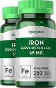 Eisen ‒ Eisensulfat  250 Überzogene Tabletten