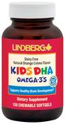 Kids DHA Omega-3's Chewable (Natural Orange), 120 Softgels