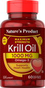 Krill Oil (Omega-3) 60 Capsules molles à libération rapide