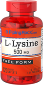 L-Lysine 500mg 120 Caplets
