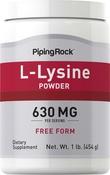 L-Lysinpulver 1 lb (454 g) Flasche
