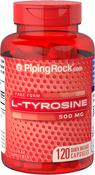 L-Tyrosine 500 mg Supplement 120 Capsules