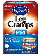 Leg Cramp PM Homeopathic Formula to Relax Calf & Foot Cramps, 50 Tablets