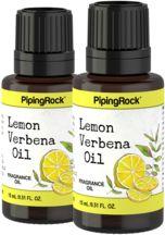 Lemon Verbena (Apothecary) Fragrance Oil 2 Dropper Bottles x 1/2 oz (15 ml)