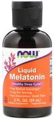 Liquid Melatonin 3mg 2 fl oz. Dropper Bottle
