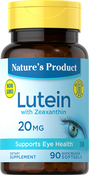 Lutein 20 mg with Zeaxanthin 90 Capsules molles à libération rapide