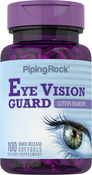 Protecteur de vision à la myrtille lutéine + Zéaxanthine 100 Capsules molles à libération rapide